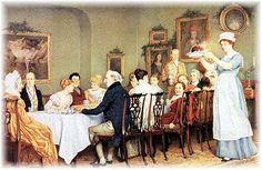 1800s Christmas Dinner England