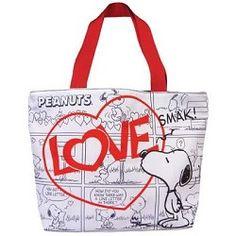 Tote Bag, Snoopy Love