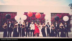 BRIDAL PARTY PHOTOGRAPHY unique wedding PHOTOS