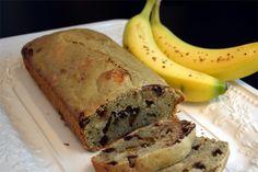 Pain aux bananes et thé vert