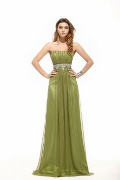 Empire Sweetheart Floor-Length Chiffon Evening Dress With Ruffle Beading Cheap Graduation Dresses, Prom Dresses 2016, Wedding Bridesmaid Dresses, Party Dresses, Affordable Evening Dresses, Evening Dresses Plus Size, Chiffon Evening Dresses, Strapless Party Dress, Sweetheart Prom Dress