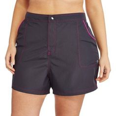 Free 2-day shipping on qualified orders over $35. Buy Free Tech Women's Plus-Size Sporty Woven Board Shorts With Built-In Liner at Walmart.com