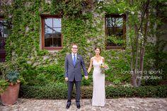 bride + groom, husband and wife, wedding day, wedding photography, couples portrait, outdoor photography :: Aviva + Ezra's Elegant Wedding at Summerour Studio in Atlanta, GA :: with Tyler