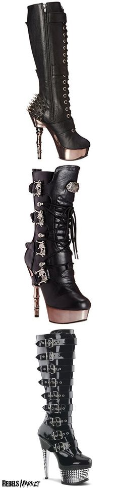 b80a1727207a7 140 Best Boots images in 2019 | Shoe, Goth shoes, Boots