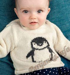 Распашонка или пуловер (д) 35*115 Phildar №4498