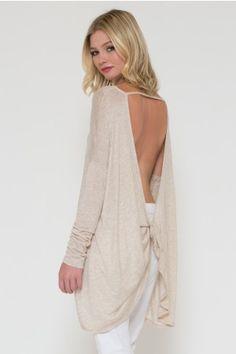 Long Sleeve Barcelona Sweater Top