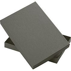 Slate Box Mailer Slate Mailers from Paper Source- perfect for mailing or prints Office Holiday Party, Fabric Cards, Diy Invitations, Invitation Ideas, Photography Packaging, Paper Source, Floating Candles, Stationery Set, Typography Logo