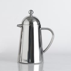 Double Walled Stainless Steel Cafetiere Conical 6 Cup / 600ml only £22 from ProCook