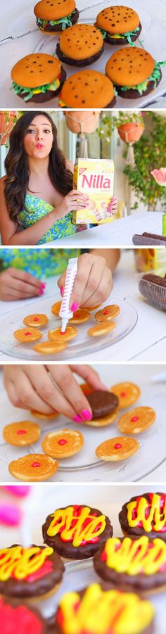 Hamburger Treats | 9 DIY Summer Backyard Party Ideas for Kids that will get the party started!