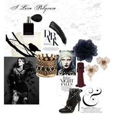 """Dark Night"" by nikkisg on Polyvore"