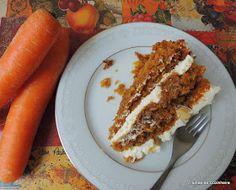 Trainee de cozinheira: Bolo de cenoura americano
