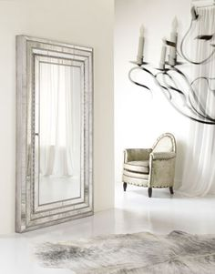 Hooker Furniture full length mounted jewelry armoire mirror
