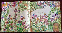 livro jardim secreto johanna basford | Jardim Secreto - Johanna Basford