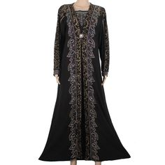 Women muslim abaya dresses jilbabs and abayas islamic clothing for women muslim long sleeve maxi dress turkish abaya  95FD1401