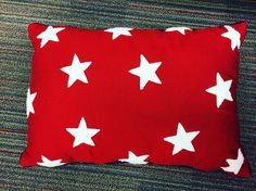 Show your #holiday spirit this #memorialday  with this Threshold #redandwhite #star #pillow.  On sale @target  for $16.99.
