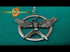 The Hunger Games Mockingjay Silver Necklace V002 Unpacking #thehungergames https://youtu.be/z8WBAc5kMzM