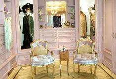 Barbara Streisand's dream home ... One of her antique shoppes in her basement street of shops.