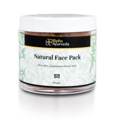 Natural face pack - detoxifies rejuvanates facial skin  http://www.biphaayurveda.com