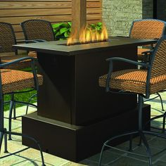 fire pit tables | woodlanddirect : outdoor fireplaces  outdoor table with fire pit Best outdoor table with fire pit review