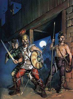 PERSOON De Germanen waren erg belangrijk bij het uiteenvallen van het Romeinse rijk. Ze zette de laatste West Romeinse keizer af. Het Oost romeinse rijk bleef nog wel bestaan.