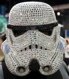 Sparkly Stormtrooper Helmet.