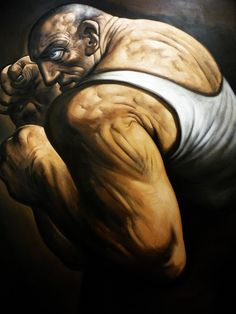 My great heart by Peter Howson.