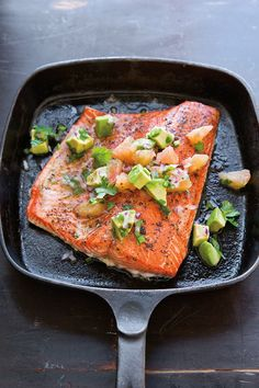 Roasted Salmon Recip