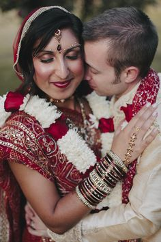 Spectacular Western and Hindu Wedding with Photography by Bryan and Mae