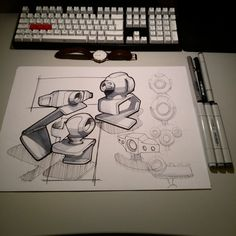 These are my sketches from 2015. The material I have been using are: ballpoint pen, sharpie, markers.