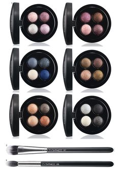 Maquiagem MAC Mineralize Eye Shadow x4!