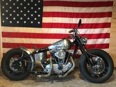 American Iron Springer Custom Bobber #harleydavidsonstreetbobber #harleydavidsonchopper