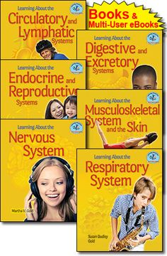 Test Drive this Series! FREE ONLINE!! Fall 2013 Offer Buy 2 Get 1 FREE! On all Common Core Library Books & Multi-User eBooks.  http://www.enslow.com/series/Learning_About_the_Human_Body_Systems/411