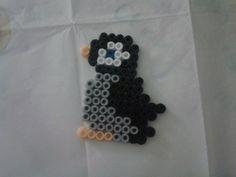 Pinguin perler beads by Eleka Peka