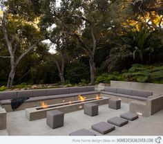 Glass Pavilion, an ultramodern house by Steve Hermann very modern fire pit. This is the idea i would like to go with for our pitvery modern fire pit. This is the idea i would like to go with for our pit Outdoor Fire, Outdoor Lounge, Outdoor Seating, Outdoor Rooms, Outdoor Gardens, Outdoor Living, Outdoor Furniture Sets, Outdoor Decor, Garden Furniture