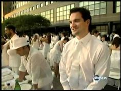 ABC Nightline - Sign of the Times - Diner en Blanc