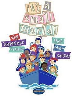 It's a Small World DISNEY PARK ATTRACTION POSTERS