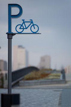 bike parking signage - Google Search