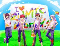 I love rumic world!  male characters: ranma, rinne, ataru, inuyasha