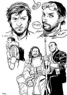 Rogue One doodles