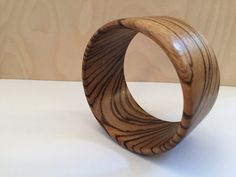 Handmade wooden bracelet by BLworkshop on Etsy