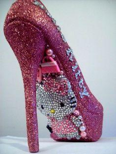 Hello Kitty heels <3