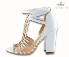 Sandália Torre Eiffel DV035 da Luiza Barcelos  Como usar: sapato branco | Blog da Castello blog.shopcastello.com.br