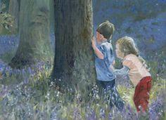 Hide and Seek in Bluebell Wood