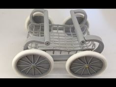 Polymer Clay Miniature 1 to 12 - The Lower Part Of The Baby Carriage - YouTube