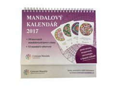 Konečně je na světě mandalový kalendář 2017 - tentokrát s mandalovými kartami s citáty slavných lidí.