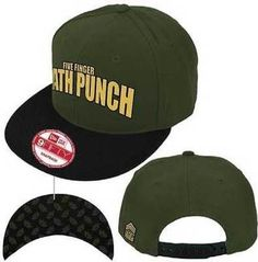 FIVE FINGER DEATH PUNCH STACKED CHEVRONS METAL MUSIC BAND BASEBALL CAP HAT