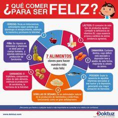 PSICOLOGOS PERU: 7 ALIMENTOS PARA SER FELIZ
