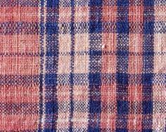 India, 18th century, handspun, handwoven cotton