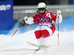 DAY 2:  Chloe Dufour-Lapointe of Canada competes in the Ladies' Moguls Final