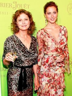 Susan Sarandon and her daughther